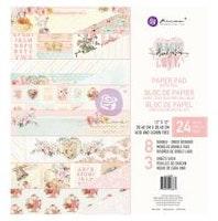 Prima Double-Sided Paper Pad 12X12  - Magic Love