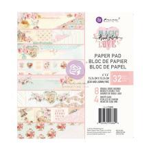 Prima Double-Sided Paper Pad 6X6 - Magic Love