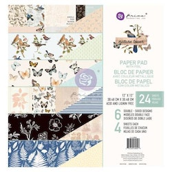 Prima Double-Sided Paper Pad 12X12 - Natur Lover