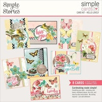 Simple Stories Simple Cards Kit - Hello Lovely