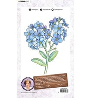 """Studio Light Clearstamp   """"Forget me not"""""""