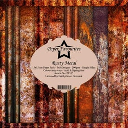 """Paper Favourites Paper Pack """"Rusty Metal"""""""