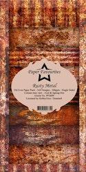 "aper Favourites Slim Card ""Rusty Metal"""