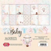 """Craft & You Paperpad """"Baby Toys"""""""