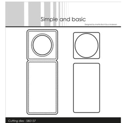"""Simple and Basic die """"Mini Piecerd Bottle Label"""""""