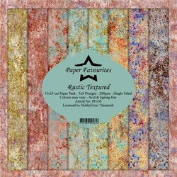 Paper Favourites Paper Pack - Rustic Textured