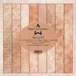 Paper Favourites Paper Pack - Rose Gold