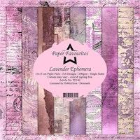Paper Favourites Paper Pack - Lavender Ephemera