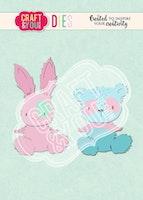 Teddy Bear & Rabbit