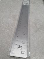 X-CUT Stållineal 30 cm