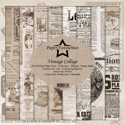 Paper Favourites Paper Pack - Vintage Collage