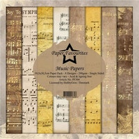 Paper Favourites Paper Pack - Music Papers