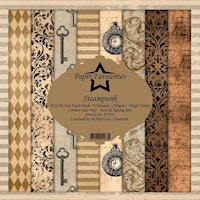 Paper Favourites Paper Pack - Steampunk