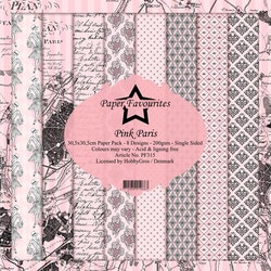 Paper Favourites Paper Pack - Pink Paris