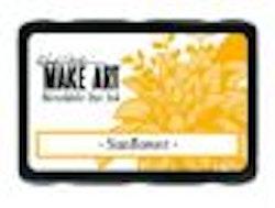 Ranger MAKE ART Dye Ink Pad Sunflower