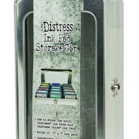 Ranger Tim Holtz Distress Pad Storage Tin - 3x3 Pads