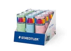 Staedtler triplus fineliner - pencil case round 20 pcs ...