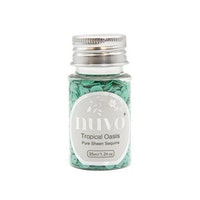 Nuvo Pure sheen sequins - tropical oasis 35ml bottle