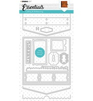 Studio Light Cutting & Emb. Die Journal Essentials nr.383
