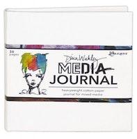 Ranger Media 6x6 White Journal - Heavyweight Watercolor ...