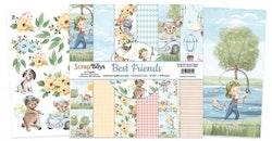 ScrapBoys Best Friends paperpad  6x6