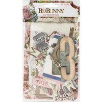 BoBunny Noteworthy Die-Cuts 59/Pkg - Family Heirlooms