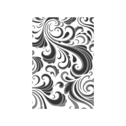 "SIZZIX/TIM HOLTZ EMBOSSINGFOLDER A6 ""Texture Fades - Swirls"""