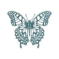 "SIZZIX/TIM HOLTZ THINLITS DIE ""Perspective Butterfly"""