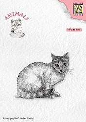 """NS CLEARSTAMP """"Cat"""""""