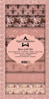 """Paper Favourites Slim Card """"Rose Gold Bee"""""""