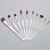 "Artiste ""Watercolour Paint Brush Set - 10 pcs"""
