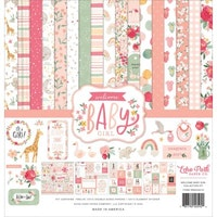 Echo Park Welcome Baby Girl 12x12 Inch  - Collection Kit