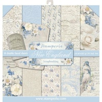Stamperia - New England 12x12  Paper Pack