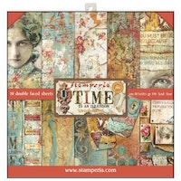 Stamperia - Time is an Illusion 12x12 Paper Pad