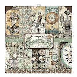 Stamperia Voyages Fantastiques 12x12 Paper Pack