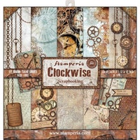 Stamperia - Clockwise 12x12 Paper Pack