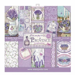Stamperia - Provence 12x12 Paper Pad