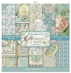 Stamperia - Azulejos 12x12  Paper Pack