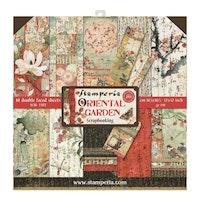 Stamperia - Oriental Garden 12x12 Paper Pack