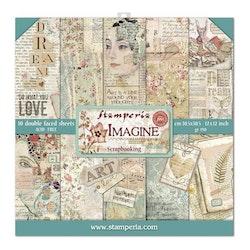 Stamperia - Imagine 12x12  Paper Pack