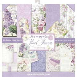 Stamperia - Lilac 12x12 Paper Pack