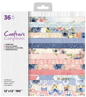 Crafter's Companion - Full Blooms 12x12 Paper Pad