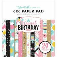 ECHO PARK - Magical Birthday Girl - 6x6 Paper Pad