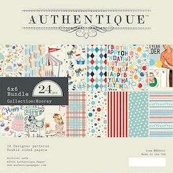 Authentique Hooray 6x6  Paper Pad