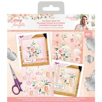 Crafter's Companion - Caring Thoughts 6x6 Die-Cut ...