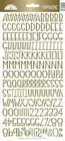 Doodlebug Design Gold Foil Sunshine Stickers