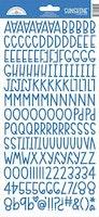Doodlebug Design Blue Jean Sunshine Stickers