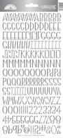 Doodlebug Design Silver Foil Sunshine Stickers
