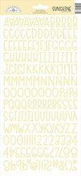 Doodlebug Design Bumblebee Sunshine Stickers