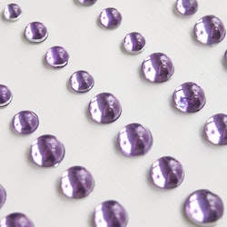 Light Purple Sparkly Bubble Rhinestone